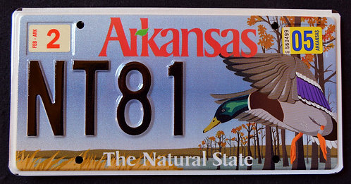AR Wildlife Duck - The Natural State - NT81