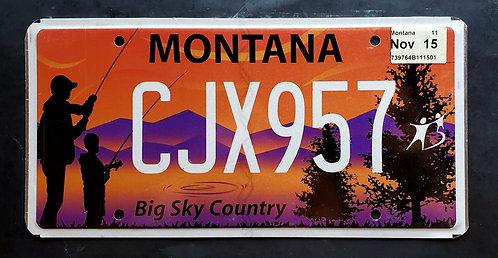 MT Montana - Big Sky Country - Anglers - CJX957