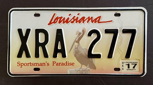 LA Wildlife Pelican - Sportsman's Paradise - Bird - XRA 277