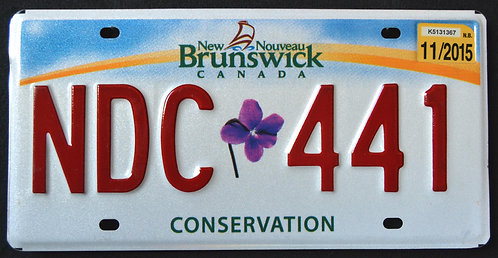 Canada - New Brunswick - Conservation Flower