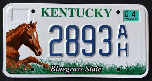 KY Wildlife Fole - Horse - Bluegras State - 2893AH