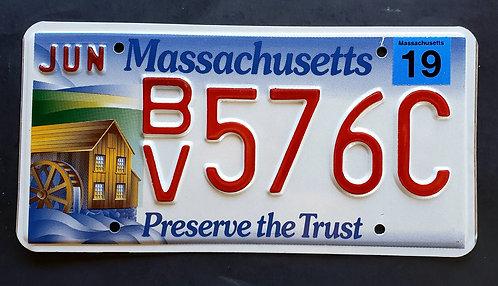 MA Massachusetts - Preserve the Trust - Watermill - BV576C
