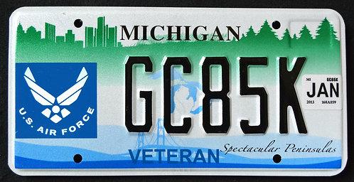 MI U.S. Air Force Veteran