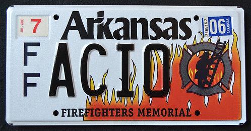 AR Firefighter Memorial