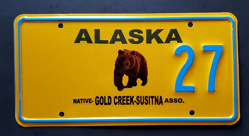 AK Wildlife Grizzly Bear - Gold Creek Susitna Native Association