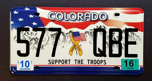 CO Support the Troops - 577 QBE