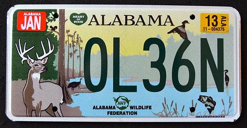 AL Wildlife Deer - Duck - Fish - Turkey - Heron - Bird - 0L36N