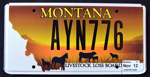 MT Livestock Loss Board - Wildlife Horse - Cow - Sheep - Coyote