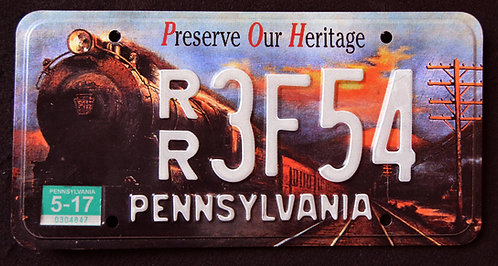 PA Preserve The Heritage - Railroad - Train