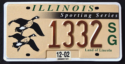 IL Wildlife Flying Geese - Birds - Sporting Series