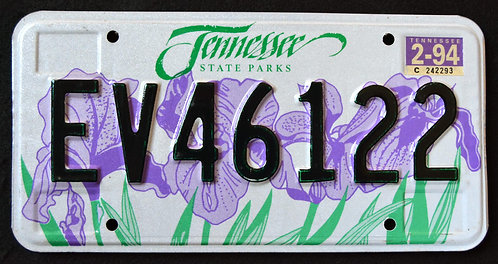 TN State Parks - Iris Flower - EV46122