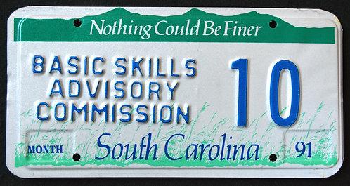 SC Basic Skills Advisory Commission