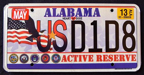 AL Active Reserve - Flag - Eagle - USD1D8