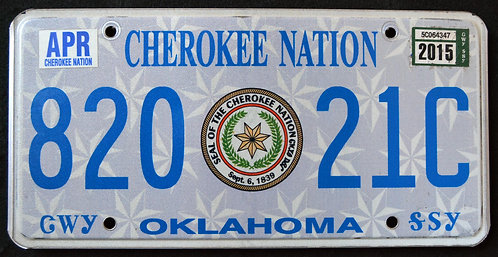 OK Cherokee Nation - Great Seal - 820 21C