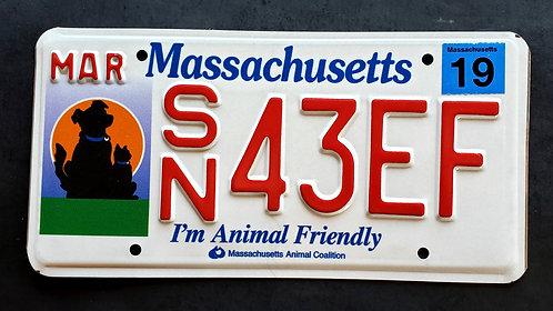 MA I'm Animal Friendly - Cat - Dog - Pets - SN43EF