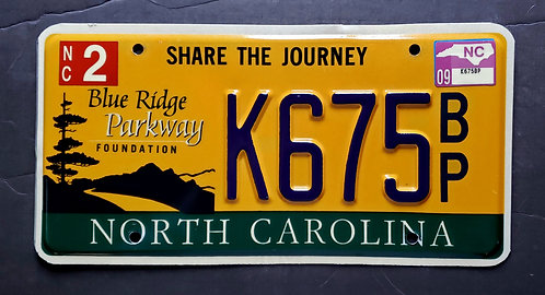 NC Blue Ridge Parkway - Share the Journey - K675BP