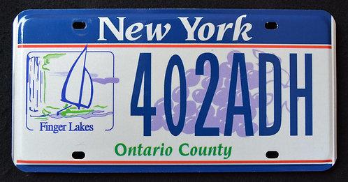 NY Finger Lakes - Ontario County