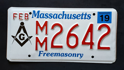 MA Freemason - Freemasonry - MM 2642