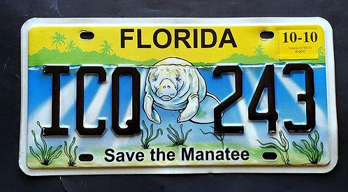FL Florida - Save the Manatee - Wildlife - ICQ 243