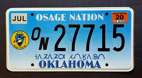 OK Osage Nation - 27715
