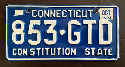 CT Costitution State - Blue - 853 GTD