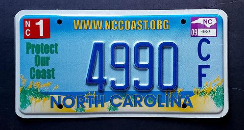 NC North Carolina - Protect Our Coast - 4990