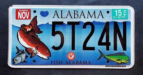AL Alabama - Wildlife Saltwater Fish - Mahi Mahi - 5T24N