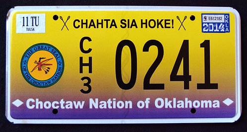 OK Oklahoma - Choctaw Nation - American Native Indian Tribe - CH3 0241
