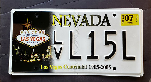 NV Las Vegas Centennial - 100 Years - Las Vegas Strip Sign - LVL15L