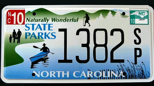 NC State Parks - Naturally Wonderful - Kajak - 1382SP