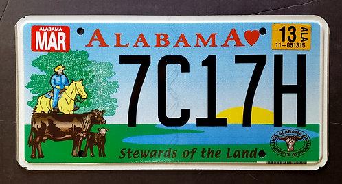 AL Steward of the Land - Cattlemen's Association - 7C17H