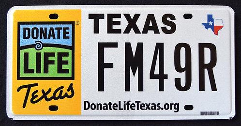 TX Donate Life - Organ Donor