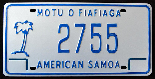 American Samoa - Palm Tree