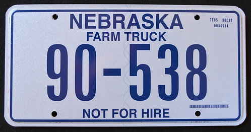 NE Farm Truck - Not For Hire - 90-538