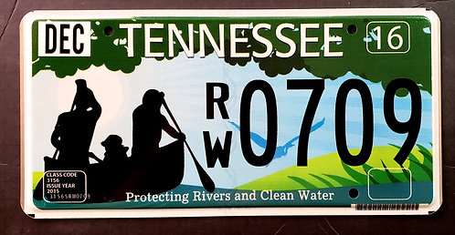TN Protecting Rivers and Clean Water - Canoe - RW0709