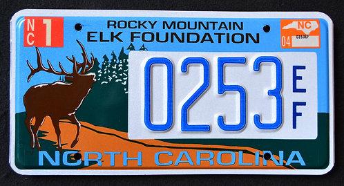 NC Wildlife Rocky Mountain Elk