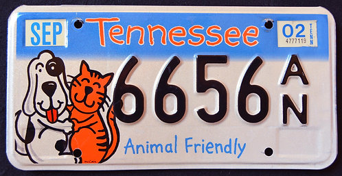 TN Animal Friendly - Pets - Cat - Dog - 6656AN