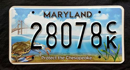 MD Maryland - Wildlife Crab - Protect the Chesapeake - Bridge - 28078CK