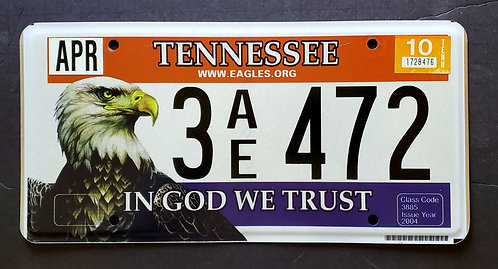 TN In God We Trust - Wildlife Eagle - 3AE472