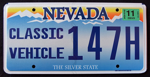NV Classic Vehicle - Custom Car - Silver State - 147H
