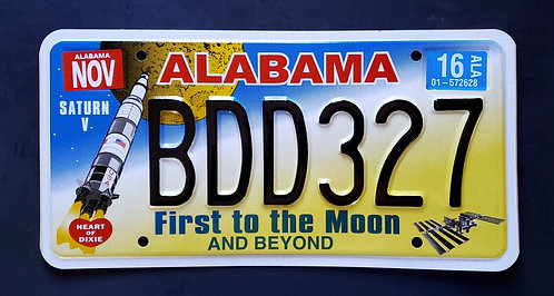 AL First To The Moon - Saturn V Rocket - Space Station - BDD327