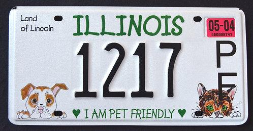 IL I Am Pet Friendly - Cat - Dog