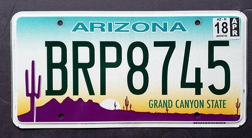 AZ Grand Canyon State - Desert Sunset - Saguaro Cactus - BRP8745