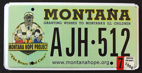 MT Hope Project - Granting Wishes T Montana`s Children - Kids  - Teddy Bear