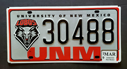 NM Go Lobos - Football - Wolf - University of New Mexico - UNM