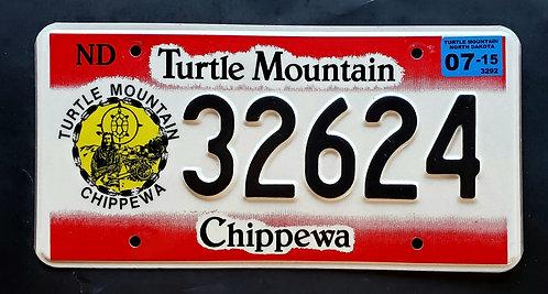 ND North Dakota - Turtle Mountain Chippewa Indian Nation Tribe - 32624