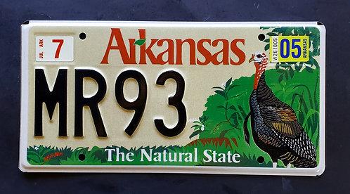 AR Arkansas Wildlife Turkey - Bird - Natural State - MR93