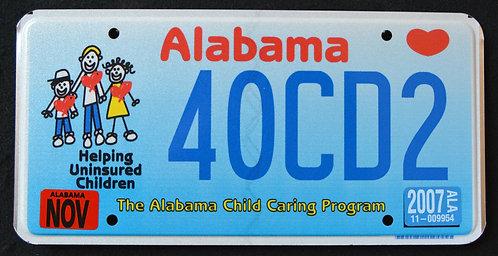 AL Child Caring Program - Helping Uninsured Children - Kids - 40CD2