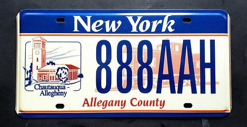 NY Chautauqua - Allegheny - Allegany County - Railroad - Train - 888 AAH