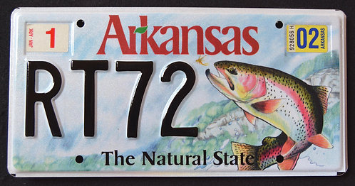 AR Wildlife Trout - Fish - The Natural State - RT72